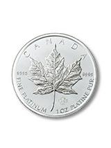メープルリーフ金貨 プラチナ 1orz