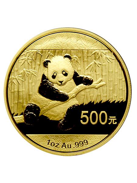中華人民共和国 パンダ金貨 1オンス