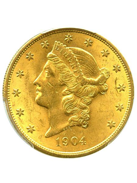 アメリカン20ドルリバティヘッド金貨