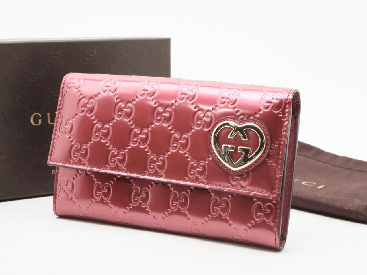 wholesale dealer 6626f 6801e グッチ ラブリー グッチシマ 二つ折り長財布をお買取りさせて ...