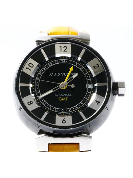 ルイヴィトン タンブールインブラック GMT Q113K SS